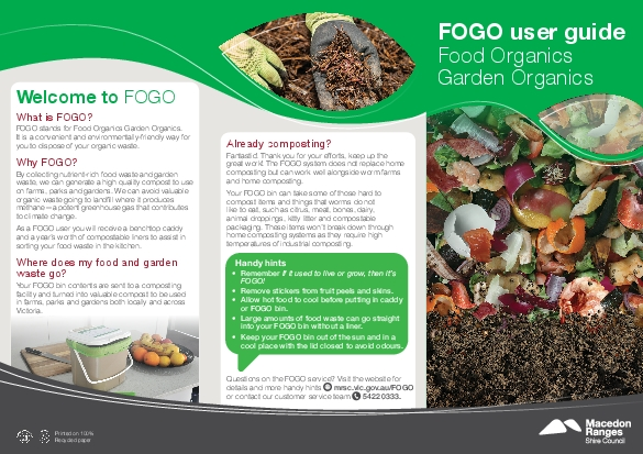 Already compostinggreat work The FOGO system does not replace home You