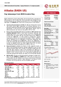 CMB International Securities  Equity Research  Company Update