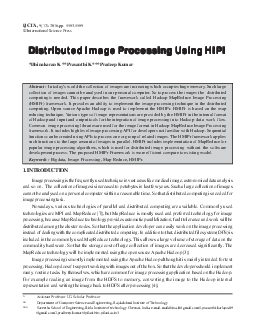 5583Distributed Image Processing Using HIPI