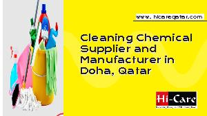 Cleaning Chemical Supplier & Manufacturer Qatar
