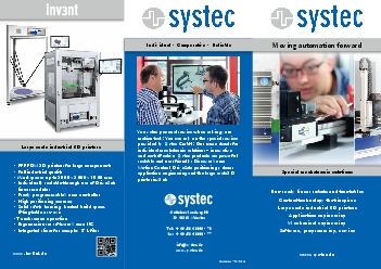 Special mechatronic solutions