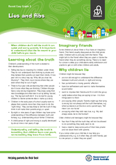 Lies and bs Parent Easy Guide  When children dont tell