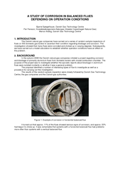 A STUDY OF CORROSION IN BALANCED FLUES  DEPENDING ON OPERATION CONDITI
