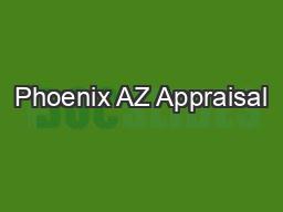 Phoenix AZ Appraisal