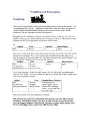 Freighting and Telescoping