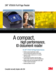 A compact,           high performance,      ID document reader AT9000