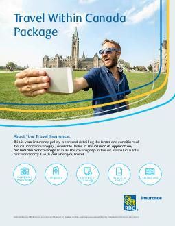 TRAVEL WITHIN CANADA PACKAGE Emergency Medical Assistance Wherever you go Assured Assistance Inc