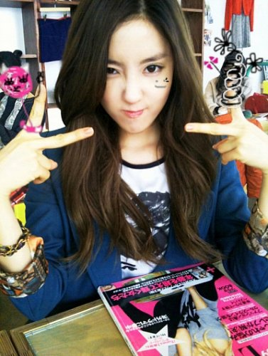 Hyomin Cyworld Update (2010.02.24)
