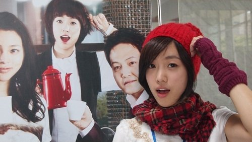 Eunjung with Coffee House Crews_8