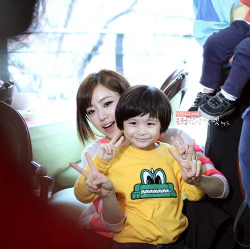 Eunjung with Moon Brothers (1)