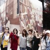 T-Ara in front of Cafe Page One (06/02) -- 003