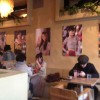 Japanese Roly Poly Posters in Cafe in Japan