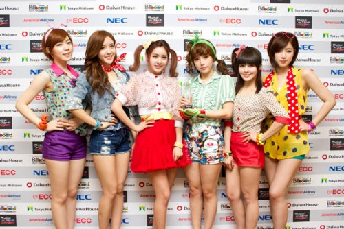 T-ara at Japan Billboard Music Awards (03/2012)