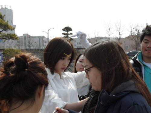 Eunjung @ KDB Daewoo Securities CF Shooting (04/2012)