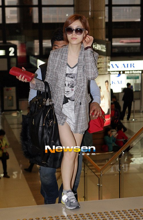 Gimpo Airport to Japan (04/2012)