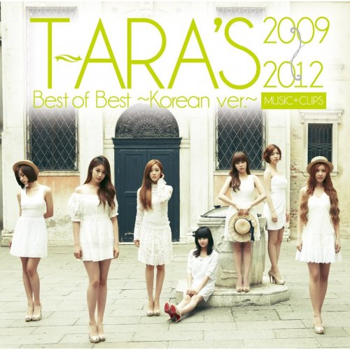 T-ara's Best of Best 2009-2012: Korean ver. (09/2012)