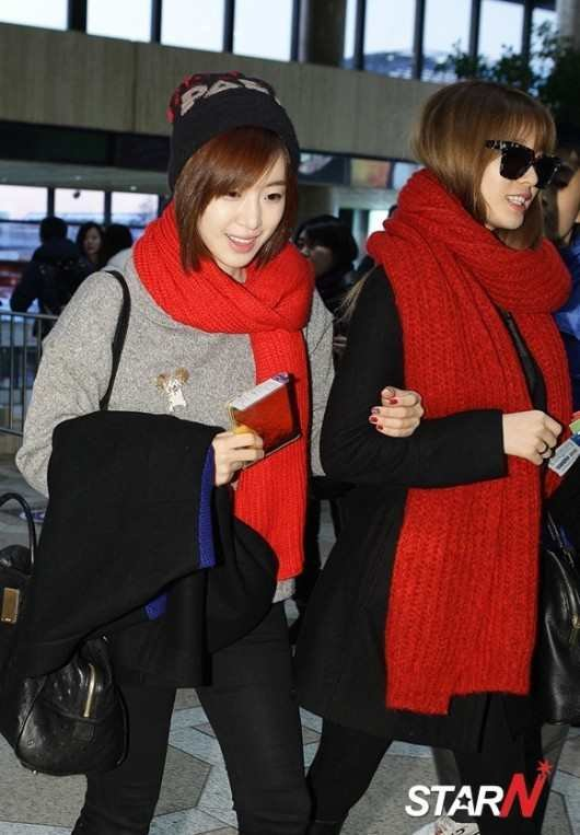 Gimpo Airport to Japan (12/2012)