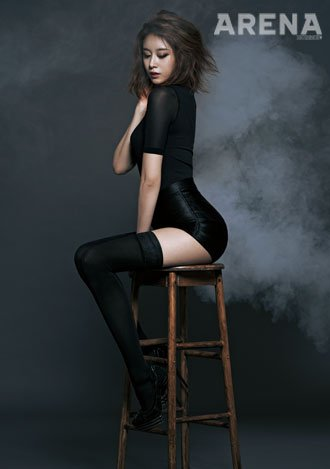 Jiyeon for Arena Homme (04/2014)