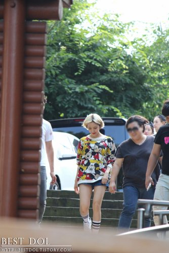 Fanmeeting after Inkigayo (07/2014)