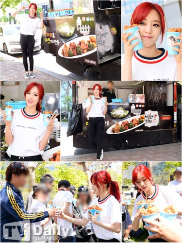 Music Core Chicken Fanmeeting - Eunjung (05/2015)