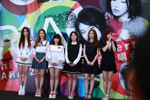 T-ara Great China Tour in Beijing Press Con (07/2015)
