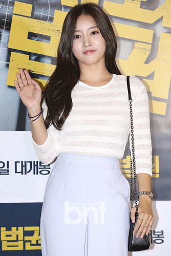 "Soyeon ""Untouchable Lawmen"" Movie VIP Premiere (08/2015)"