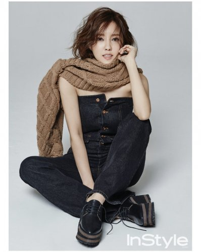Instyle April Issue 2016 - Hyomin