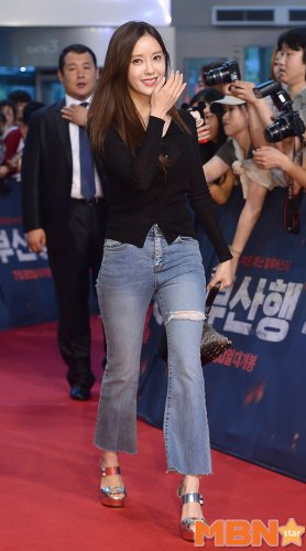 'Train to Busan' Premiere - Hyomin Qri