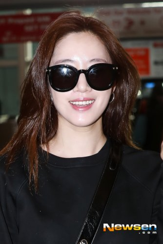 Incheon Airport from Singapore - Eunjung (02/2019)
