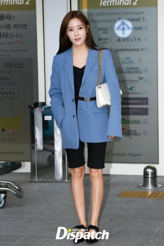 Incheon Airport to Vietnam - Hyomin (07/2019)