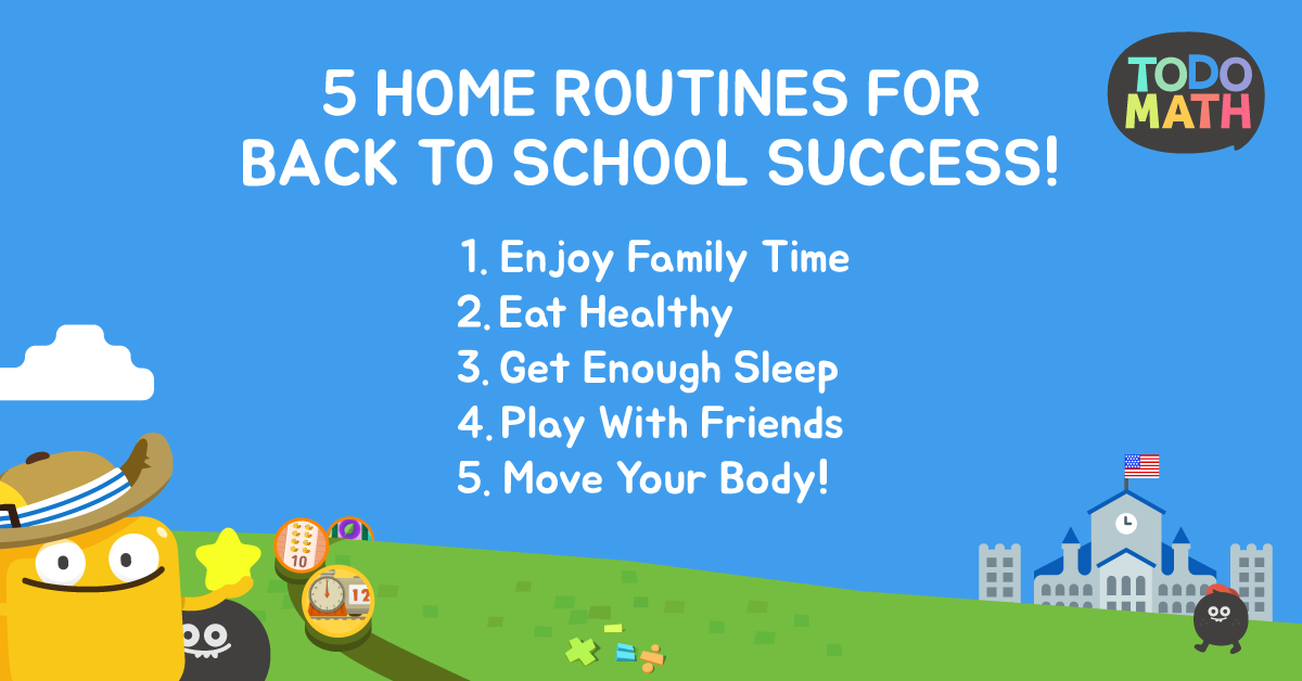 Five Essential Home Routines To Prepare For Back To School