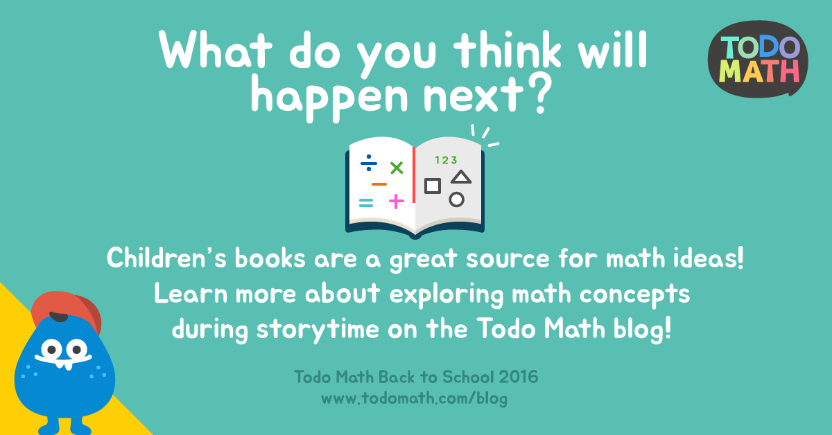 Children's Books are a Great Source for Math Ideas