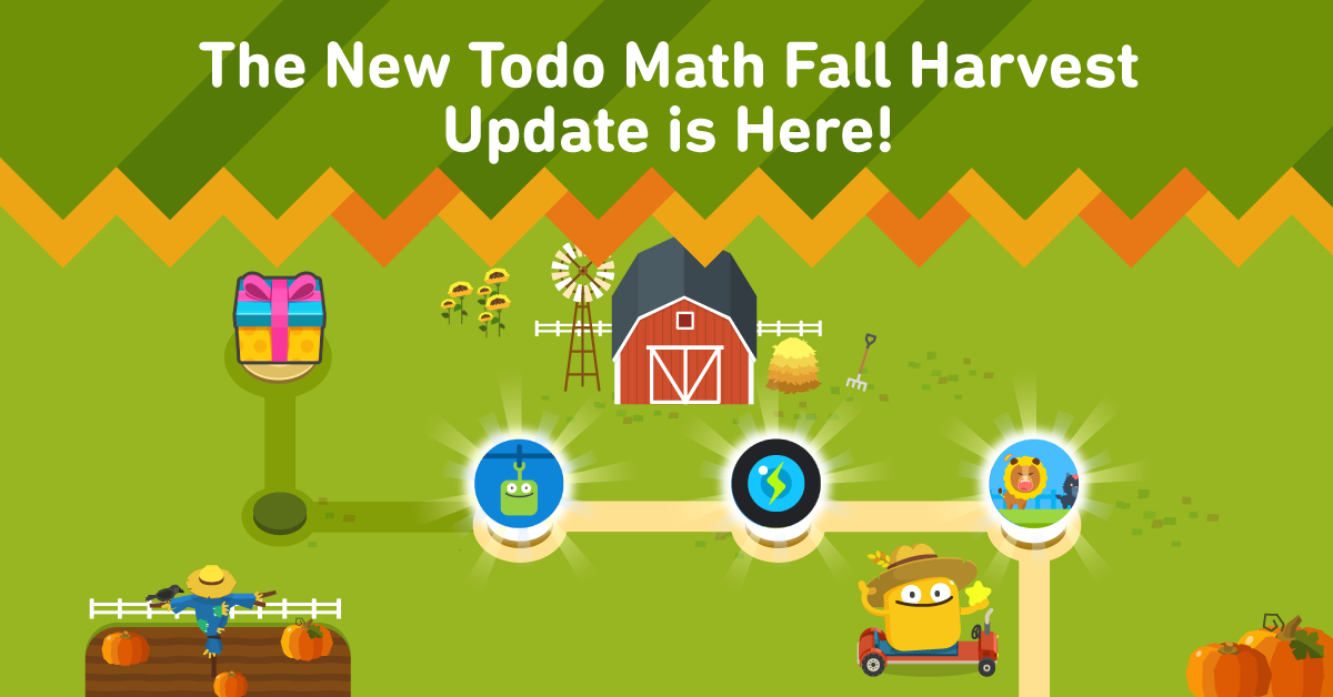 Todo Math Adds Two New Games in Fall Update