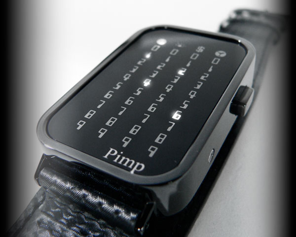 Pimp Led Watch leather strap