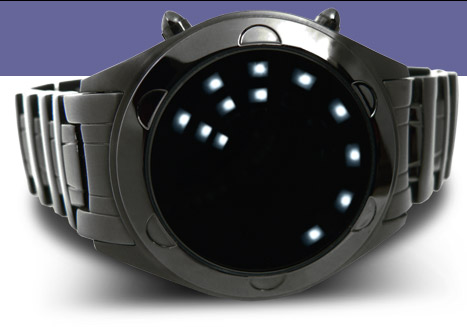 Oberon LED watch