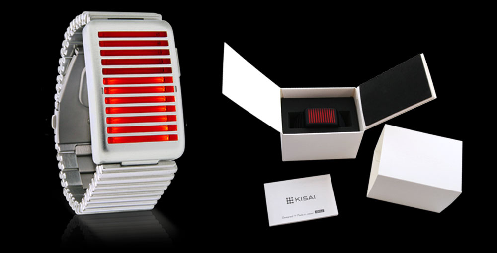LED watch and packaging