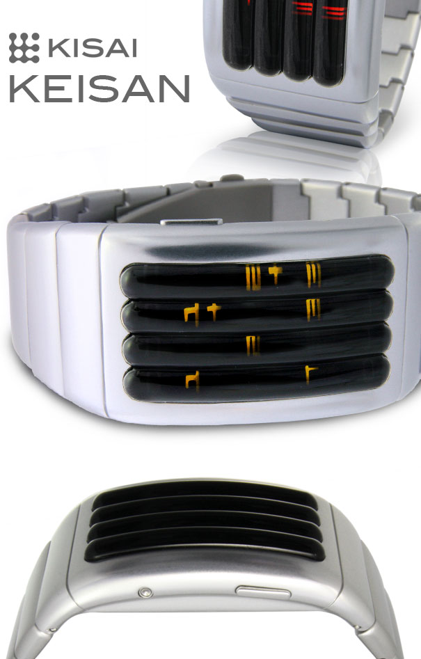 Kisai KEISAN LED watch