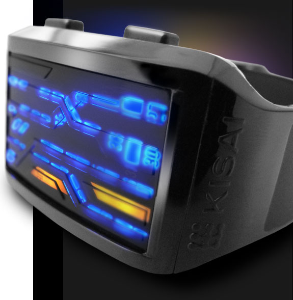 Kisai Lightspeed LED watch