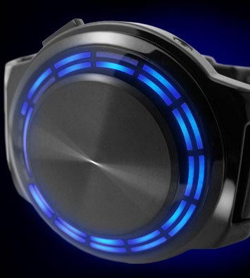 Kisai RPM Blue LED watch