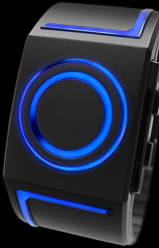 Kisai Seven with Blue LED