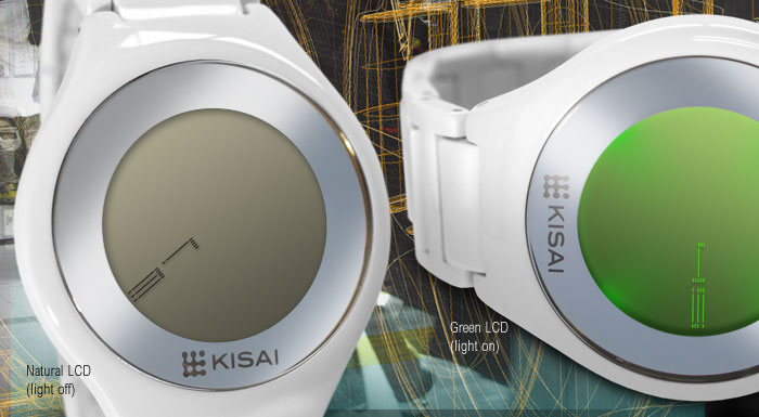 Kisai On Air LCD Watch
