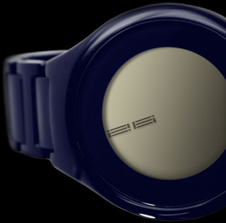 on air LCD watch