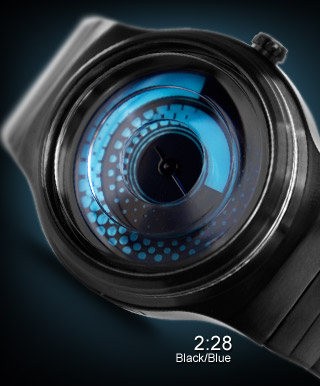 Uzumaki black & blue watch version