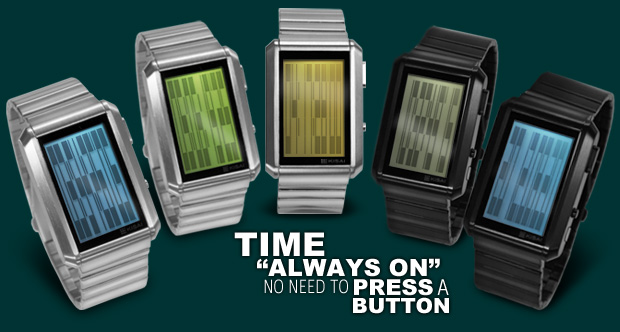 Upload LCD watch range in 8 models