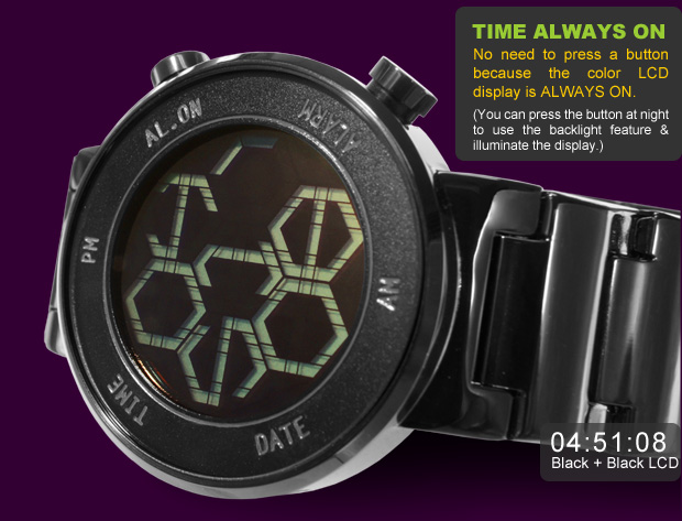 Zone watch black version