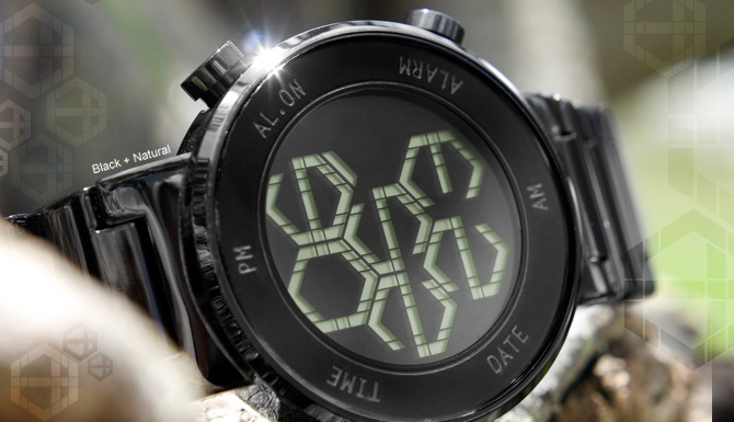 Kisai Zone LCD watch