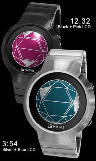 Polygon pink and blue LCD versions