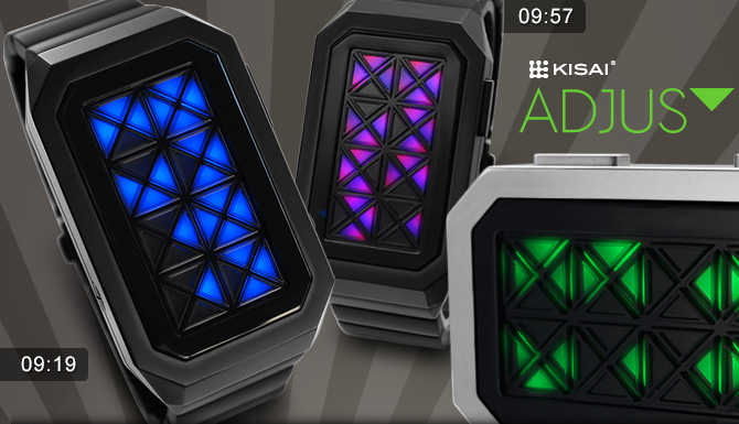 Kisai Adjust LED watch