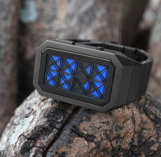 Outdoor photo of Adjust LED watch