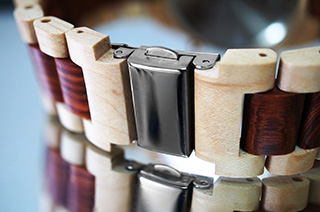 Rogue watch wood strap
